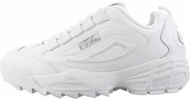 Fila Disruptor 3 - White Silver