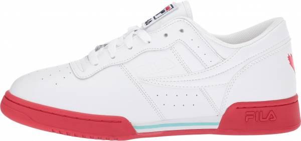 Black/Hirs/White Men's Athletic Retro Shoes FILA Original Fitness Sneakers