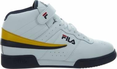 Fila F-13 - WHITE/NAVY/YELLOW (1FM00085138)