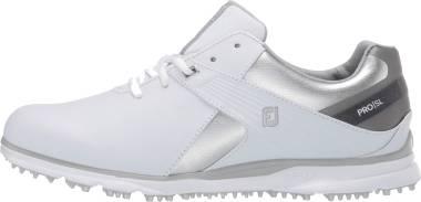 Footjoy Pro SL - White Silver Grey