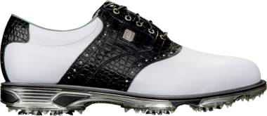 Footjoy DryJoys Tour - White/Black Croc Print (53610)