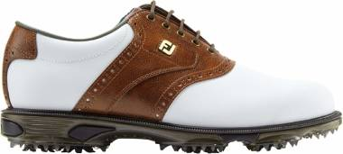 Footjoy DryJoys Tour - White Blanco Marrón 53709m (53709)