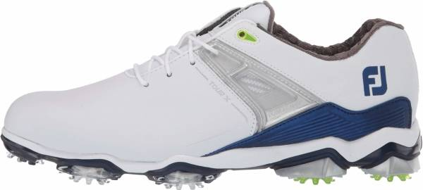 Footjoy Tour X - White/ Navy/ Lime (55404)