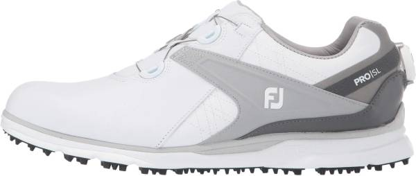 Footjoy Pro SL BOA - White/ Grey (53817)