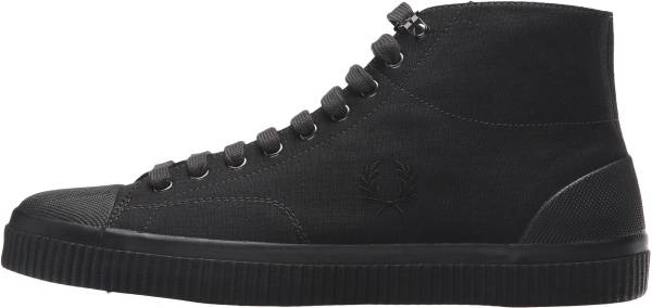 Fred Perry Hughes Mid Canvas - Black