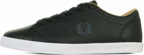 Fred Perry Baseline Leather - Black (B6158102)