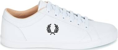 Fred Perry Baseline Leather - White (B3058100)