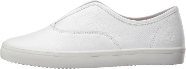 Frye Kerry Slip-On - White Leather