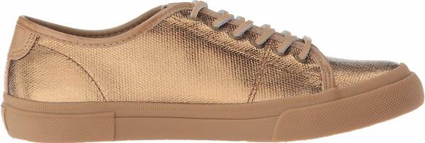 Frye Gia Canvas Low Lace - Bronze
