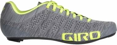 Giro Empire E70 Knit - Grey Heather/Highlight Yellow (GISEMEG)