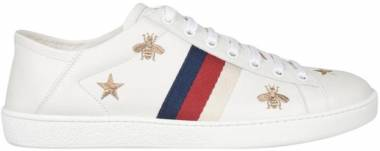 dc3e2c4d Gucci Ace Sneaker with Bees and Stars