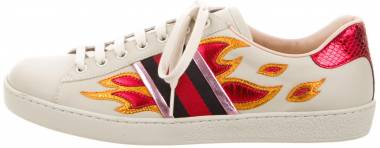 Gucci Ace Sneaker with Flames - gucci-ace-sneaker-with-flames-d436