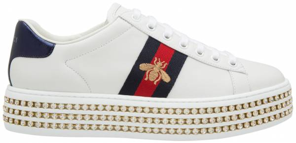 3edc076c76f Gucci Ace Sneaker with Crystals gucci-ace-sneaker-with-crystals-613e