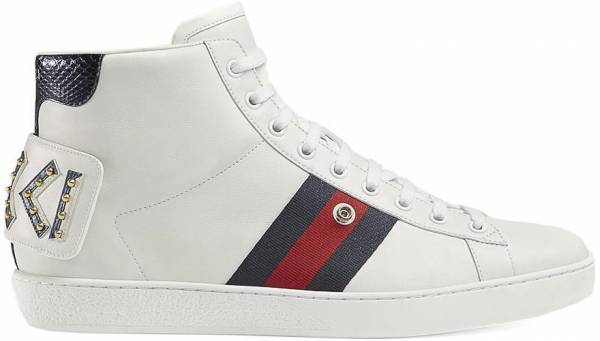 Gucci Ace High Top with Removable Patches - gucci-ace-high-top-with-removable-patches-9244