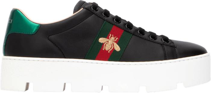 Buy Gucci Ace Embroidered Platform