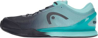 Head Sprint Pro 3.0 Clay - Black Turquoise (273050)