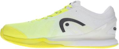 Head Sprint Pro 3.0 Clay - Neon yellow / white. (273030)