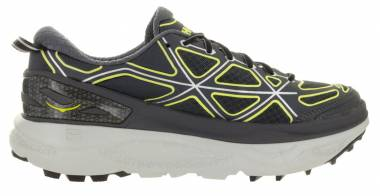 Hoka One One Mafate 4 - GREY / CITRUS