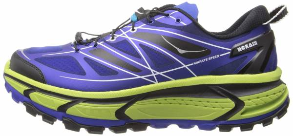 Hoka One One Mafate Speed men blue/lime/black