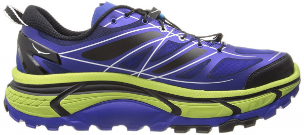 Hoka One One Mafate Speed men blue / lime / black