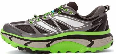 Hoka One One Mafate Speed - Grey / Green Flash