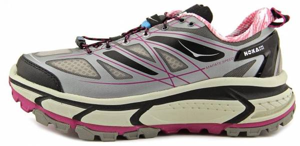 Hoka One One Mafate Speed woman grey/black/fuschia
