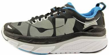 Hoka One One Valor - Black/Cyan (005)