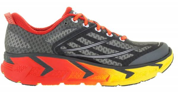 Hoka One One Odyssey 2 Grey/Orange Flash