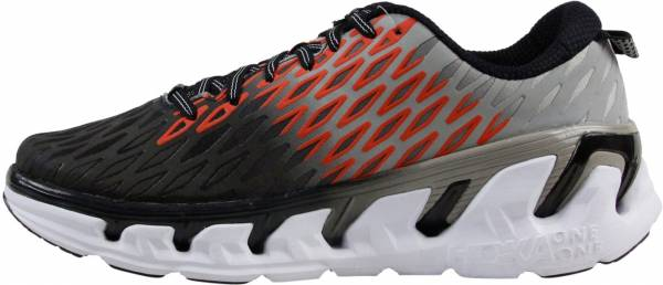 Hoka One One Vanquish 2 men grey/orange flash