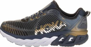 Hoka One One Arahi Midnight Navy/Metallic Gold Men