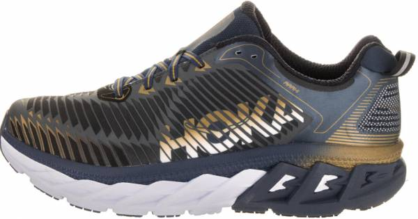Hoka One One Arahi - Midnight Navy/Metallic Gold