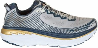 Hoka One One Bondi 5 - Cool Gray / Midnight Navy