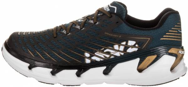 Hoka One One Vanquish 3 Midnight Navy / Metallic Gold