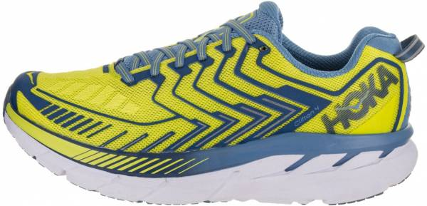 Hoka One One Clifton 4 - true blue/jasmine green (SSMD)