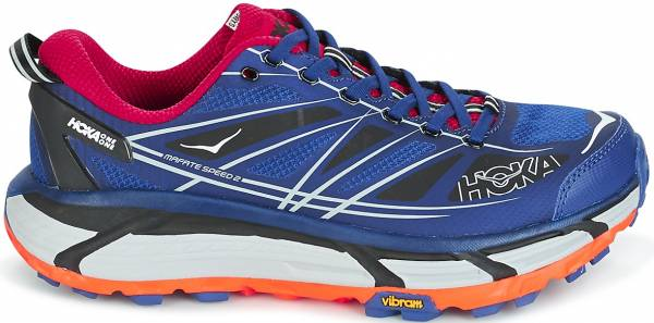 Hoka One One Mafate Speed 2 Navy Blue