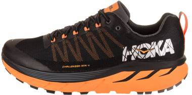 Hoka One One Challenger 4 ATR Black/Kumquat Men