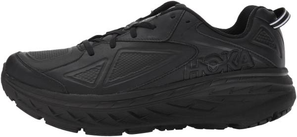 Hoka One One Bondi Leather - Black (BLK)