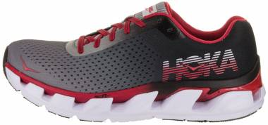 Hoka One One Elevon Black/Racing Red Men