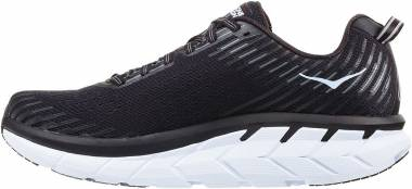 Hoka One One Clifton 5 Black/White Men