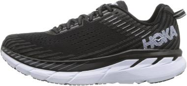 Hoka One One Clifton 5 - Black White (BWHT)