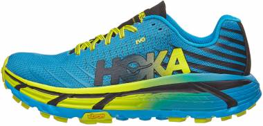 Hoka One One Evo Mafate Cyan/Citrus Men