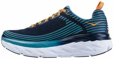 Hoka One One Bondi 6 - Black Iris Storm Blue
