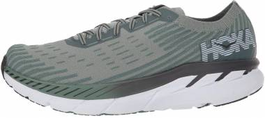 Hoka One One Clifton 5 Knit Grey Men