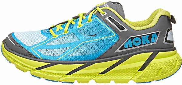 Hoka One One Clifton 1 - Citrus / Cyan / Grey