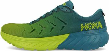 Hoka One One Mach 2 Blue / Green Men