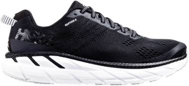 Hoka One One Clifton 6 - Black (BWHT)