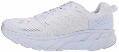 Hoka One One Clifton 6 - White/Lunar Rock Mesh (WLRC)