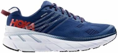 Hoka One One Clifton 6 - Mandarin Red Imperial Blue (1102872110)