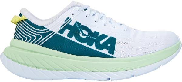 Hoka One One Carbon X - Green Ash/White