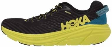 Hoka One One Rincon - BLACK / CITRUS